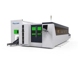 станок для лазерной резки металлических труб и пластин с высокой скоростью 1500 Вт с поворотным устройством