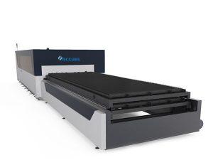 автомат для резки лазера 380v двойного привода промышленный для структуры металлической пластины