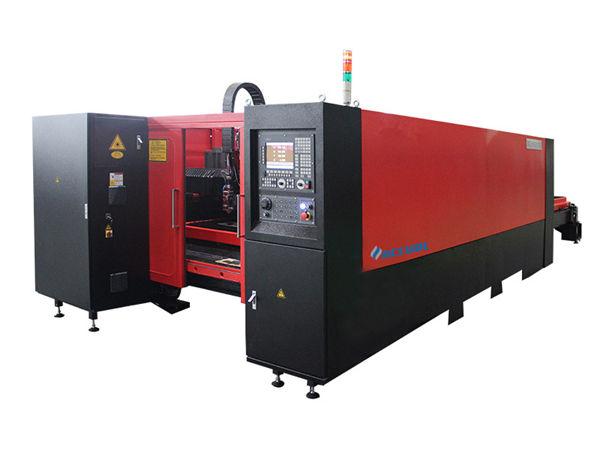 1000 Вт промышленной лазерной резки низкий уровень шума высокая точность для резки углеродистой стали