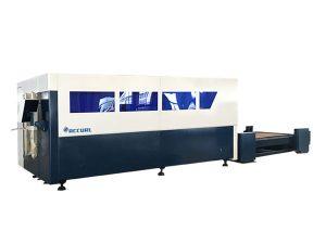 одиночный автомат для резки лазера волокна cnc платформы, резец металлического листа
