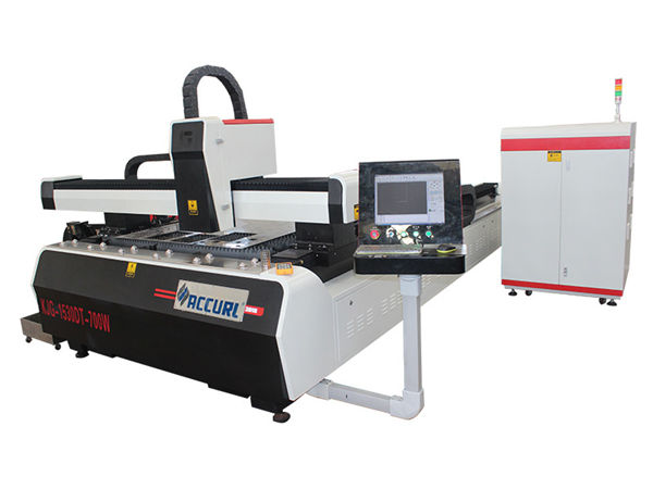 высокая эффективность привода двойного привода автомата для резки лазера волокна cnc плиты легированной стали