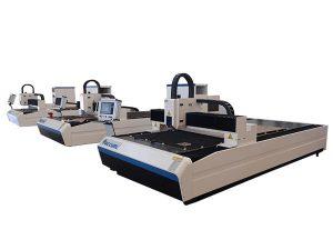 высокая точность волокна лазерной резки двойной линейный двигатель для металлической пластины
