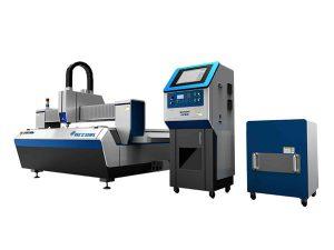 скорость резки автомата для резки лазера волокна двойного привода высокая для обрабатывать индустрии