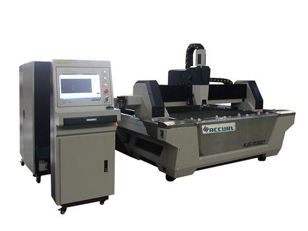 резец листа нержавеющей стали автомата для резки лазера волокна cnc с таблицей обменом