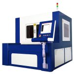 Автомат для резки лазера волокна 380v 50 / 60hz для высокоточных частей металла