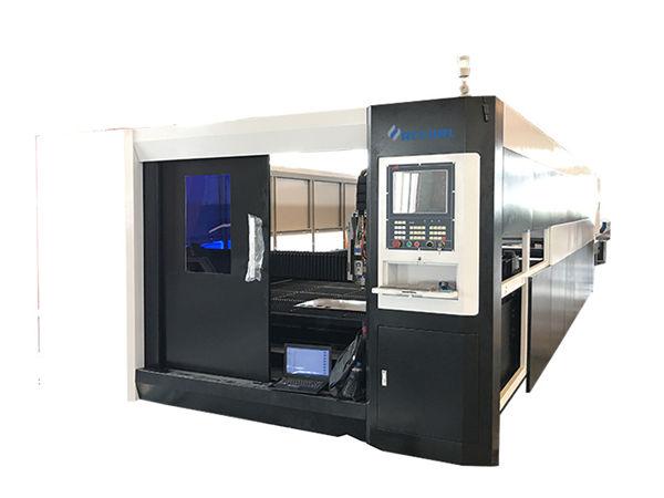 3000 Вт волокна чпу для лазерной резки металла портальный двойной привод структуры