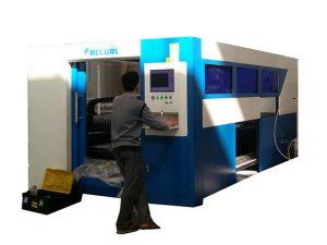 Скорость автомата для резки лазера оптического волокна 2kw регулируемая для пробки металла